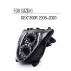 Demoneyes デーモンアイ HID プロジェクター LED ヘッドライトユニット レッド スズキ Hayabusa ハヤブサ 隼 GSX1300R 2008-2016