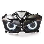 Demoneyes デーモンアイ HID プロジェクター LED ヘッドライトユニット ホワイト ヤマハ  YZF-R25/YZF-R3 2015-
