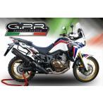 イタリア GPR GHISA EVO スリップオンマフラーCRF1000L 16-