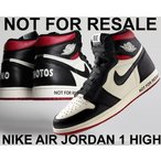 ナイキ エアジョーダン 1 ハイ NIKE AIR JORDAN 1 HI OG NRG NOT FOR RESALE sail/black-varsity redスニーカー AJ1 861428-106