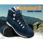 ティンバーランド ユーロハイカー Timberland EURO HIKER F/L navy ハイキングブーツ ネイビー スウェード ウォータープルーフ メンズ ブーツ メンズ ハイキング
