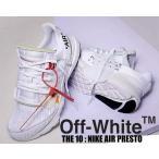 ナイキ エアプレスト オフホワイト THE : 10 NIKE AIR PRESTO  Off-White wht/blk-cone スニーカー ホワイト