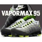 ナイキ エア ヴェイパーマックス 95 NIKE AIR VAPORMAX 95 black/volt-medium ash スニーカー エアマックス 95 イエローグラデ aj7292-001