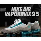 ナイキ エア ヴェイパーマックス 95 NIKE AIR VAPORMAX 95 black/neo tueq-medium ash スニーカー エアマックス 95 グラデーション