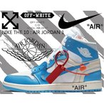 ナイキ エアジョーダン 1 NIKE AIR JORDAN 1 x OFF-WHITE NRG white/dk powder blue-cone OFF-WHITE VIRGIL ABLOH × NIKE ヴァージル・アブロー オフホワイト