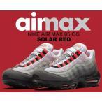 ナイキ エアマックス 95 OG NIKE AIR MAX 95 OG white/solar red-granite-dust スニーカー エア マックス 95 ソーラーレッド グラデーション