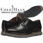 コールハーン COLE HAAN ORIGINAL GRAND SHWNG black/ironstoneメンズ 靴 走れる ビジネスシューズ カジュアルシューズ ドレスシューズ ブラウン ウイングチップ