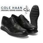 コールハーン オリジナル グランド ショートウィング COLE HAAN ORIGINAL GRAND SHWNG black/black ビジネスシューズ カジュアル メンズ 靴 革