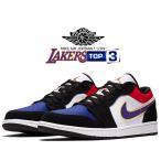 ナイキ エアジョーダン 1 ロー NIKE AIR JORDAN 1 LOW 1991 NBA FINALS black/field purple-white cj9216-051 スニーカー AJ1  LAKERS