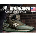 ニューバランス 998 NEW BALANCE M998AWA MADE IN U.S.A. NB M998 AWA USA メンズ スニーカー Cross Model Pack