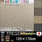 カーペット ラグマット/東リ/マレユール/120×170cm 長方形 楕円/4色