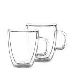ボダム BODUM ビストロ ダブルウォールグラス 2個セット 300mL 保温 エスプレッソ マグ 10604-10US4 BISTRO DWG 二重構造 プレゼント コーヒー 新生活