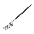クチポール Cutipol ゴア GOA ディナーフォーク Dinner fork ブラック Black カトラリー 5609881940204
