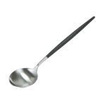 クチポール Cutipol ゴア GOA テーブルスプーン Table spoon ブラック Black カトラリー 5609881940303