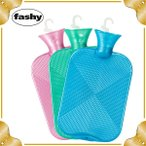 �ե����� �򤿤�� �ϥ��֥�åɥܥȥ� �ѡ��륹���� ��˼ ���� �ɴ� ɹ�� ���� 6445 FASHY Hot water bottle single ribbed 2.0L