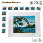 �إ����֥饦�� Heather Brown �����ȥץ��� �ϥ磻 ���� ����ƥꥢ HB9 Open Edition Matted Art Prints �� ���� �ϥ磻���� �� ������