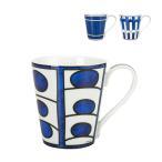 エルメス HERMES ブルーダイユール マグ 240mL マグカップ ホワイト/ブルー Bleu dAilleurs Mug