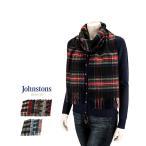 ジョンストンズ カシミアマフラー ストール WA000016 JOHNSTONS Woven Scarves 100% Cashmere Woven Scarf