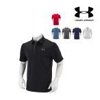 アンダーアーマー Under Armour メンズ ポロシャツ ゴルフ テックポロ 1290140 ゴルフウェア ポロ ラッピング対象外