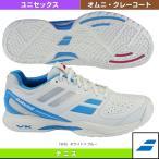 ショッピングテニス シューズ [バボラ テニスシューズ]PULSION OMNI WB/パルション オムニ WB/ユニセックス(BAS16337)