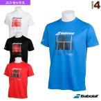 バボラ テニス・バドミントンウェア(メンズ/ユニ)  ショートスリーブシャツ/カラープレイライン/ユニセックス(BTUNJA35)