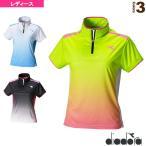 ショッピングディアドラ ディアドラ テニス・バドミントンウェア(レディース) TEAM/W ゲームシャツ/レディース(DTL7342)