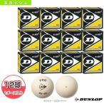 ダンロップ スカッシュボール  『12球単位』PRO XX WHT/プロ XX ホワイト(DA50038)