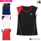 [ルーセント テニス・バドミントンウェア(レディース)]ゲームシャツ/襟なし/レディース(XLH-228)
