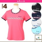 [パラディーゾ テニス・バドミントンウェア(レディース)]半袖ゲームシャツ/レディース(ECL05A)