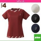 [プリンス テニス・バドミントンウェア(レディース)]ゲームシャツ/レディース(WL6078)