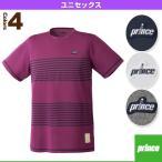 【ポイント10倍】[プリンス テニス・バドミントンウェア(メンズ/ユニ)]ゲームシャツ/ユニセックス(WU7001)