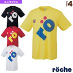 [ローチェ(roche) テニス・バドミントンウェア(レディース)]ローチェ サイドロゴTシャツ/ユニセックス(R7TU1T)