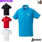 スリクソン テニス・バドミントンウェア(メンズ/ユニ)  ポロシャツ/クラブライン/ユニセックス(SDP-1845)テニスウェア男性用