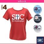 [セントクリストファー テニス・バドミントンウェア(レディース)]クラシックロゴTシャツ/レディース(STC-AGW2031)