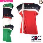 セントクリストファー テニス・バドミントンウェア(レディース)  クロスラインゲームTシャツ/レディース(STC-AIW6181)