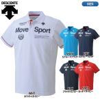 DESCENTE デサント  Move Sport ムーブスポーツ  半袖 ポロシャツ タフポロライト DAT-4702