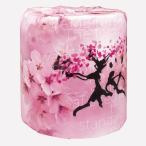 トイレットペーパー 桜 100個販売 春を象徴する花 トイレットロール おもしろトイレットペーパー ※商品代引不可 =spring