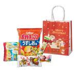 クリスマス プレゼントサンタお菓子5点セット 60個販売 クリスマス お菓子  お菓子×5 日本製 販促品ノベルティ 販促品