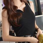 タンクトップ フリーサイズ  タンクトップ  レディース インナー カットソー ノースリーブ 女性ファッション 女性/送料無料
