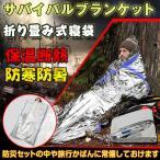 寝袋 簡易寝袋 サバイバルブランケット アルミ 防災 災害 防寒 保温 シュラフ 救助 簡易 ad060