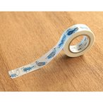 【ゆうメール99円】カモ井加工紙 mt リサラーソン Retrobirds 幅15mm×全長10m マスキングテープ