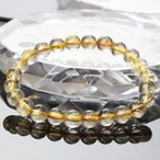 【一点物 7mm玉】 ルチルクォーツ ブレスレット Bracelet ブレスレット Bangle 腕輪 ブレス rutile quartz 金針水晶 メンズ レディース 一点物