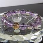アメトリン ブレスレット おすすめ ametrine 黄紫水晶 Bracelet パワース...