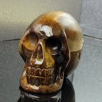 タイガーアイ ドクロ スカル tigereye パワーストーン Skull 原石