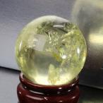 シトリン 丸玉 原石 citrine 黄水晶 Ball パワーストーン【44mm】