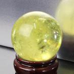 シトリン 丸玉 原石 citrine 黄水晶 Ball パワーストーン【52mm】