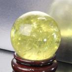 シトリン 丸玉 原石 citrine 黄水晶 Ball パワーストーン【50mm】