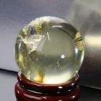 シトリン 丸玉 原石 citrine 黄水晶 Gemstone パワーストーン【透明度バツグン 43mm】