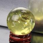 シトリン 丸玉 水晶玉 citrine 黄水晶 Gemstone 一点物【透明度バツグン 38mm】