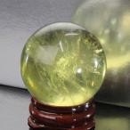 シトリン 丸玉 原石 citrine 黄水晶 Gemstone パワーストーン【透明度バツグン 38mm】
